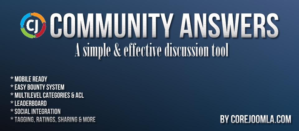 Community Answers